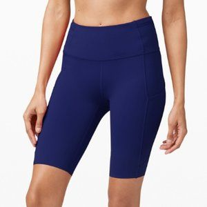 COPY - Lululemon Fast and Free High-Rise Short 10""